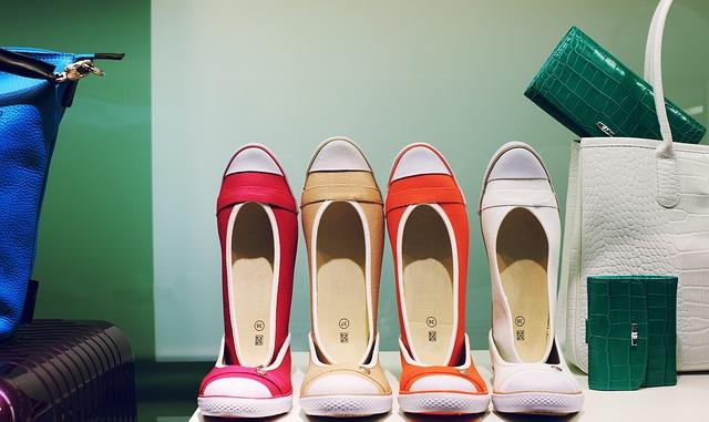 vystavené boty