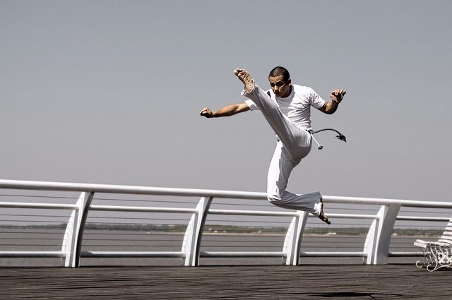 muž a capoeira