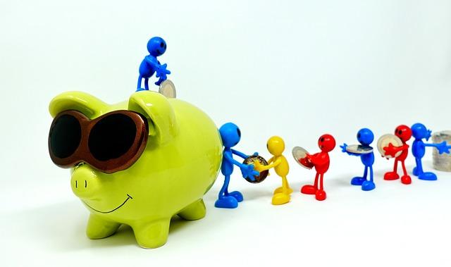 úspory peněz