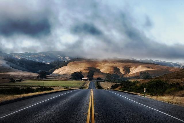 kalifornie silnice
