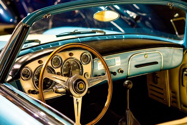 starý kabriolet
