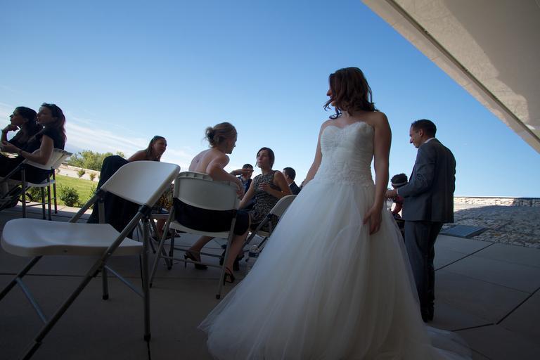 nevěsta v bílém
