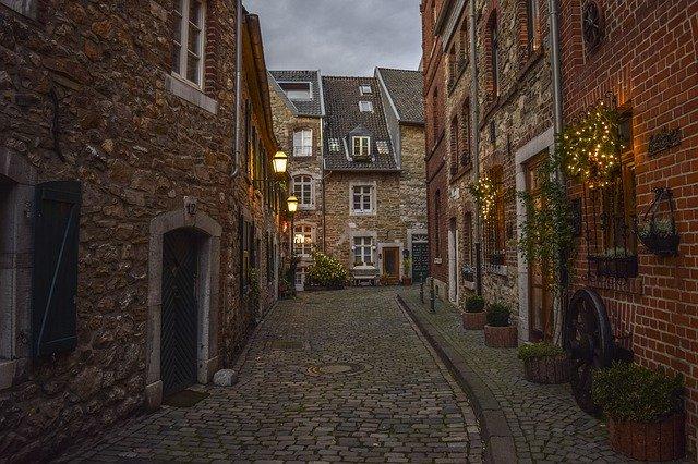stará cihlová ulice